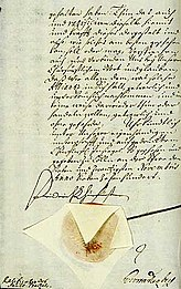 Ratification of the contract by Friedrich I.