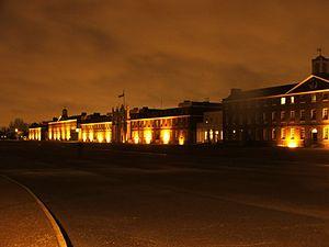 The Royal Artillery Barracks.
