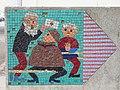 1210 Aistgasse 8-30 - Mosaik-Wegweiser (2) von Hilde Leiter 1969 IMG 3510.jpg