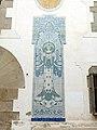 123 Can Rocosa, riera Gavarra 2 (Canet de Mar), plafó ceràmic.JPG