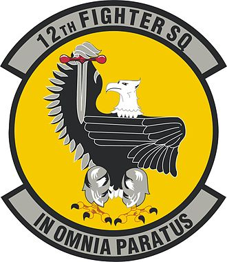 12th Special Operations Squadron - Image: 12th Fighter Squadron