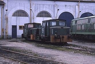 PKP class SM03 - Image: 13.11.94 Lublin depot SM03 163 + SM03 88 (6018215753)