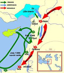تاريخ فلسطين غزوات المغول فلسطين