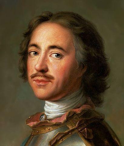 Портрет Петра I, 1717 года