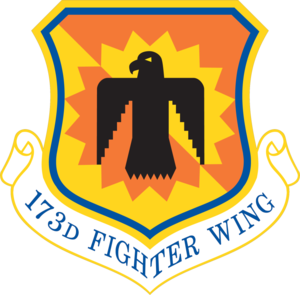 Kingsley Field Air National Guard Base - Image: 173d Fighter Wing