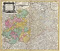 1757 Homann Heirs Map of Saxony, Germany, and the Czech Republic - Geographicus - Saxoniae-hmhr-1757.jpg