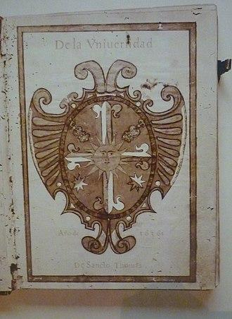 Archives of the University of Santo Tomas - Image: 17th Century Libro de Piques