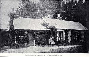 John Charles Watts-Russell - Watts-Russell's 1856 cottage (ca. 1900)