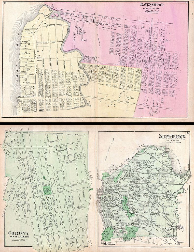 File Beers Map Of Ravenswood Long Island City Queens New - Nyc map long island city