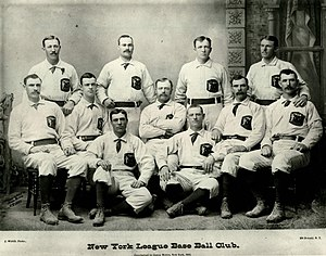 History of the New York Giants (baseball) - 1883 Gothams