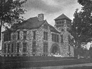 Holden, Massachusetts - Holden public library, 1891
