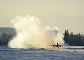 18th Aggressor Squadron F-16 takes off from Eielson Air Force Base, Alaska.jpg