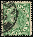 1902 6d emerald Victoria Postage DC Yv135 SG392.jpg