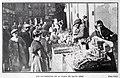 1907-12-28, Blanco y Negro, El comercio callejero en las Pascuas, Goñi (cropped) Los nacimientos en la plaza de Santa Cruz.jpg