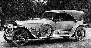 Delaunay-Belleville - A 1908 Delaunay-Belleville