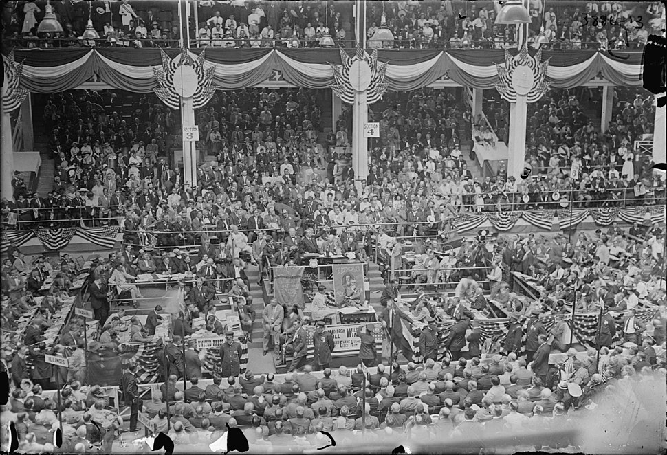 1916 Democratic National Convention St Louis