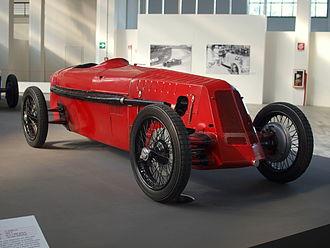 Rosso corsa - Image: 1925 Itala Tipo 11