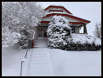 West Milwaukee, Wisconsin - A bungalow located in Brew Manor (Village of West Milwaukee)