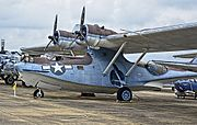 1940 Consolidated Vultee PBY-5A Catalina BuNo 46602 (N607CC) (National Naval Aviation Museum) (8746052715).jpg