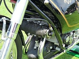 AJS Porcupine - E95 Porcupine engine
