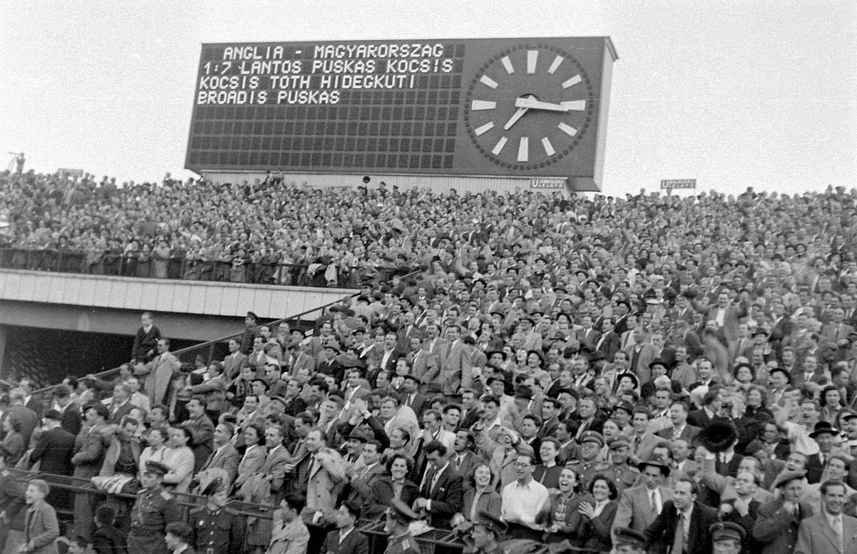 Hungary 7–1 England (1954 association football friendly ...
