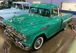 Chevrolet El Camino - 1957 Chevrolet Cameo Carrier