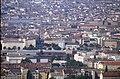 196R34180890 Blick vom Donauturm, Bildmitte Gebäude Franz Josefs Bahnhof, unterhalb Bereich Nordwestbahnhof.jpg