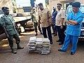 196 kg de cannabis saisis dans un camion à Bamako, Mali, le 7 novembre 2017 02.jpg