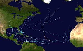 1988 Atlantic hurricane season Summary of the relevant tropical storms