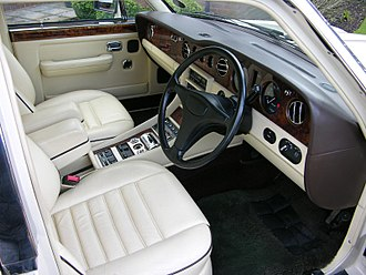 Bentley Turbo R - Bentley Turbo R Interior