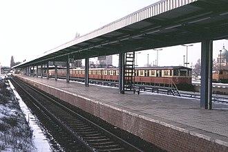 Potsdam Hauptbahnhof - Potsdam Stadt station, 1993