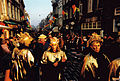 "19990214 Maastricht carnival; celebrants in ""Boonte Störm"" parade at Wycker Brugstraat.jpg"