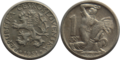 1 koruna CSK (1950-1953).png