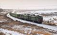 2ТЭ10В-4097, Россия, Челябинская область, перегон Красная Башкирия - Магнитогорск-Пассажирский (Trainpix 87900).jpg