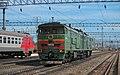 2ТЭ10М-0403, Россия, Нижегородская область, станция Арзамас-II (Trainpix 64050).jpg