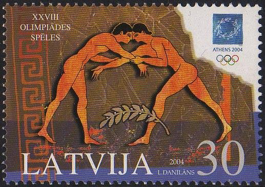 20040814 30sant Latvia Postage Stamp