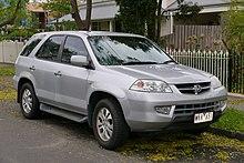 Acura MDX Wikipedia - 01 acura mdx transmission
