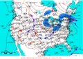 2006-05-13 Surface Weather Map NOAA.png