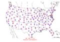 2006-06-03 Max-min Temperature Map NOAA.png