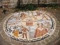 2006 mosaic at Knaresborough Castle - geograph.org.uk - 986265.jpg