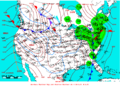 2007-01-08 Surface Weather Map NOAA.png