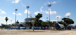 Lockhart Stadium Soccer stadium in Fort Lauderdale, Florida