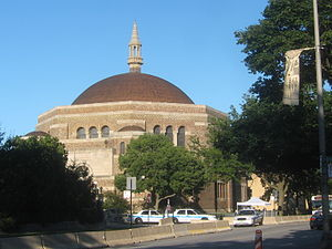 Synagogue - K.A.M. Isaiah Israel Temple in the Chicago neighborhood of Kenwood
