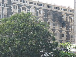 2008 Mumbai terror attacks Taj Hotel burned room.jpg