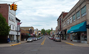Ironwood, Michigan - Downtown Ironwood