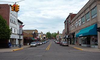 Ironwood, Michigan - Downtown Ironwood