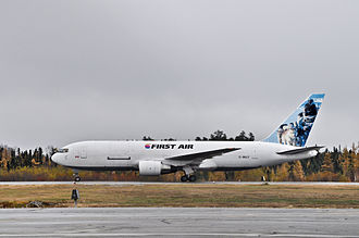 First Air - First Air Boeing 767 at Val-d'Or Airport
