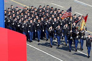 18th Infantry Regiment (United States) - At the 2010 Moscow Victory Day Parade