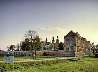 Lubiąż Village in Lower Silesian, Poland