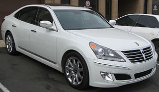 Hyundai Equus car model